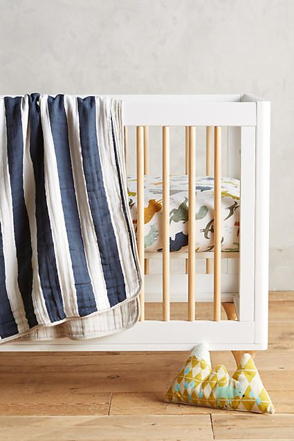 Striped Cotton Toddler Quilt & Playmat - anthropologie.com