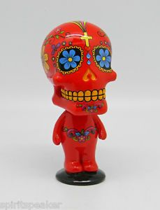 Day of the Dead Red Bobblehead.  Also ccomes in black, light blue or white