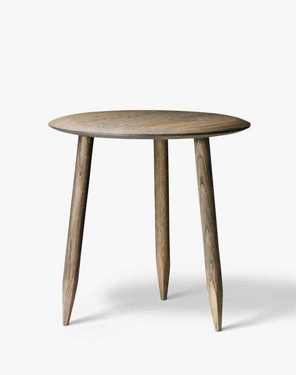 Runder Beistelltisch Hoof Table Sw1 Von Tradition Beistelltisch Beistelltisch Rund Tisch
