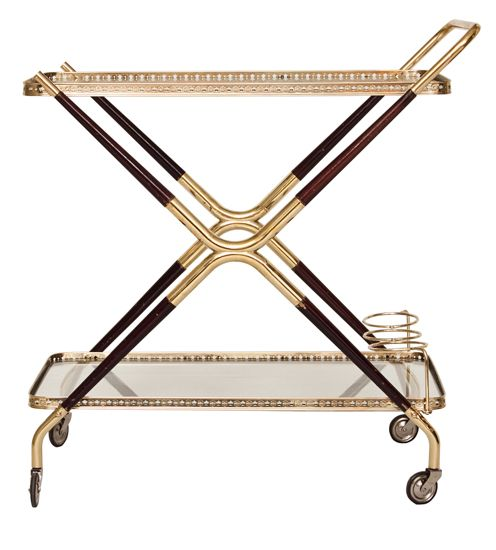 Midcentury French Drinks Trolley