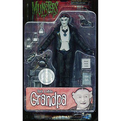 Munsters 20915: The Munsters Grandpa Munster Diamond Select Toys 7 Black And White Figure New -> BUY IT NOW ONLY: $49.99 on eBay!