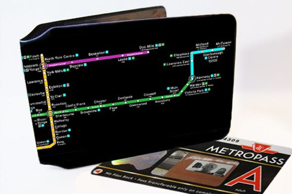 TTC map wallet a perfect accessory for transit nerds