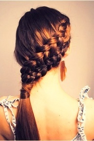 Braids on your hair...