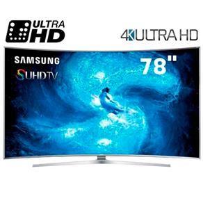 "Smart TV 3D LED Curved 78"" Ultra HD 4K Samsung ..."