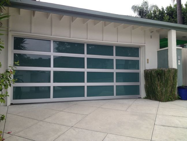 contemporary garage doors cost