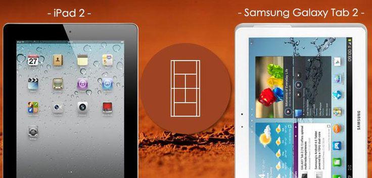[Vente Du Diable] Plutôt Apple ou Samsung? Le match a commencé entre l'ipad 2 et la Galaxy Tab 2 #Apple #Samsung #hightech #technologie #tablette #venteprivée