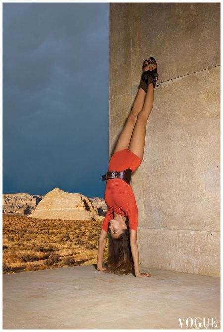 Daria 2 Patrick Demarchelier, Vogue, January 2010