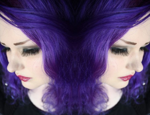 CrazyColor Violetti Shokkihiusväri -Hot Purple | Cybershop