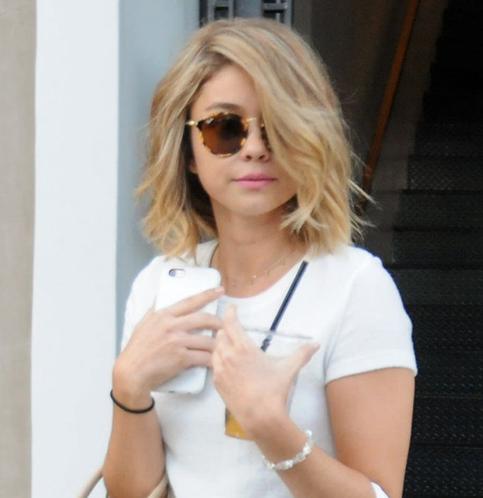 Sarah Hyland Dyed Her Hair Blonde | InStyle.com