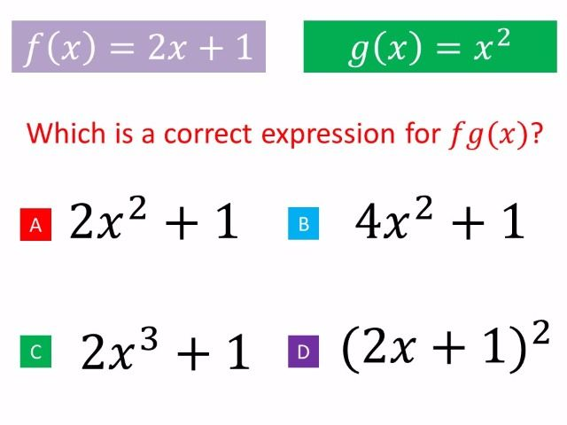 Composite Functions for the new Maths GCSE