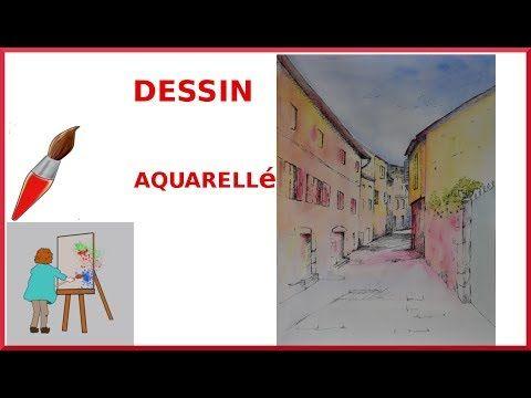 Une Methode Pour Peindre Une Aquarelle Coloree Dite Dessin