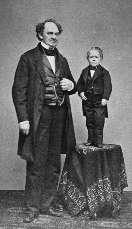 Tom thumb and pt barnum