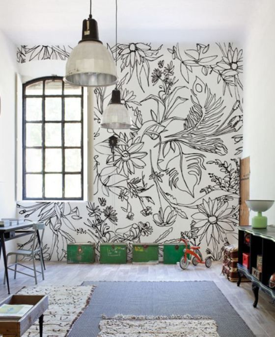 Come arredare una parete bianca e noiosa senza impazzire for Arredare parete vuota soggiorno