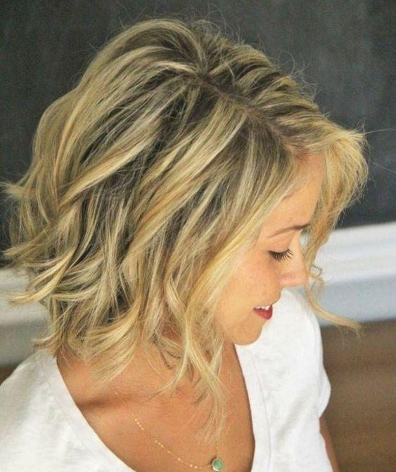 Bild Für Trendige Frisuren Für Halblanges Haar Frisuren Mittellang