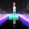 Gwanghwamun Fountain & Yi Sun-sin Statue