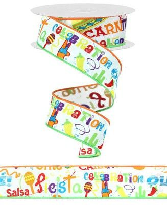 Fiesta Ribbon Size 1 5 Quot Width 10 Yards Length Color