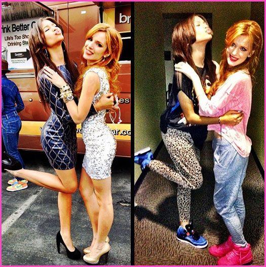 Bella Thorne And Zendaya Coleman Dressed Up Vs. Dressed Down