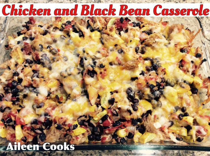 ... Black Bean Casserole on Pinterest | Bean Casserole, Black Beans and