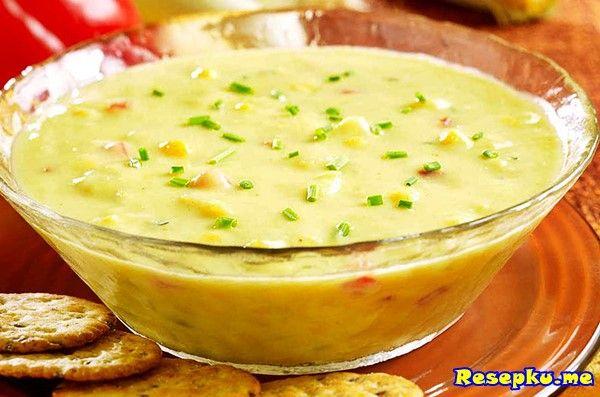 Cara Membuat Resep Cream Soup Jagung Manis Sederhana Sup Resep Masakan Masakan