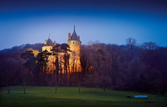 Castell Coch (Red Castle) is relatively modern, the by-product of a vivid Victorian imagination.