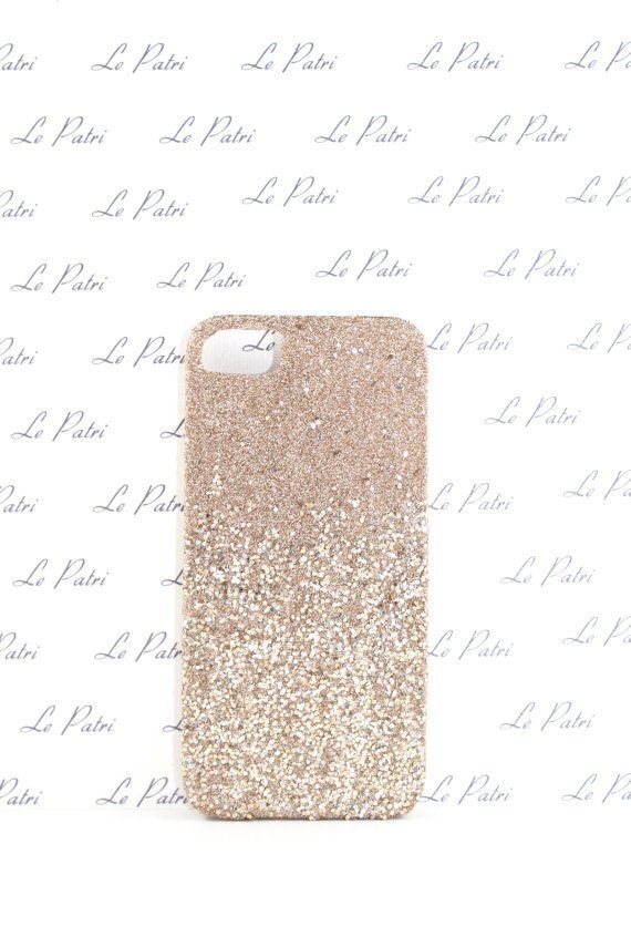 Pin for Later: Over 100 Cases For Every Kind of iPhone User Champagne Gold and Silver Ombré by LePatri iPhone 4/4S/5 Case Gold glitter iPhone case ($14)