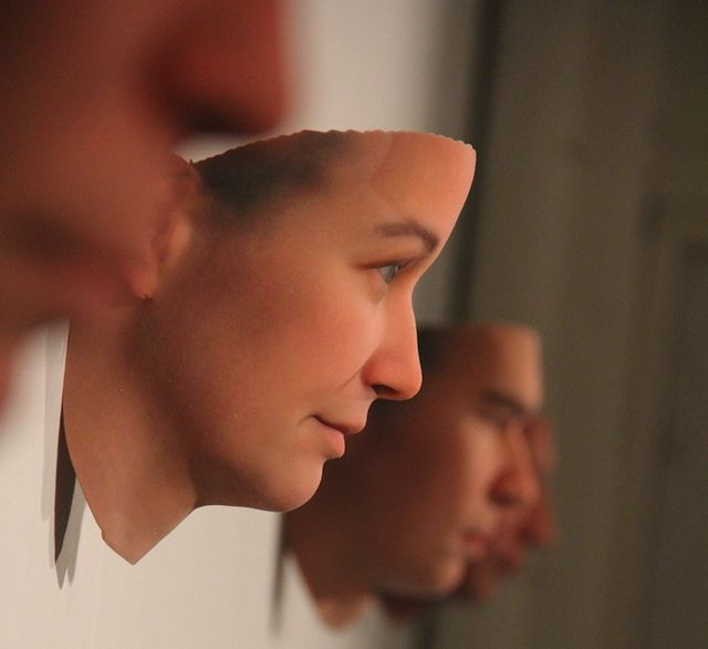 Human DNA Retrieved From Public Places Used To 3D Print Portraits By Daniel Perez.  Do we have to patent our dna now?!