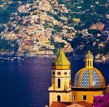 Italian Hand painted ceramic coming from Amalfi coast area.