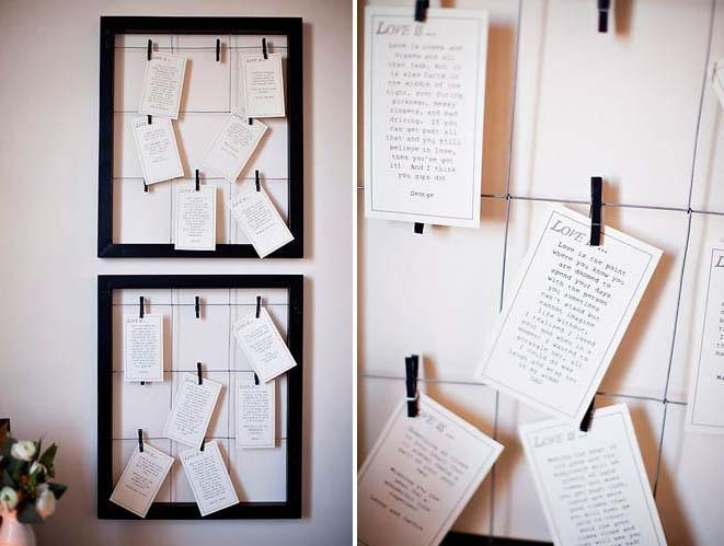 love letter display