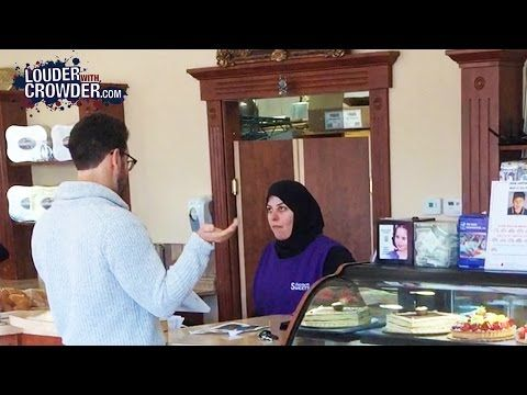 HIDDEN CAMERA: Steven Crowder Trying To Buy A Gay Wedding Cake At Muslim Bakeries | MRCTV - Why aren't the so do mites suing Muslim bakeries like they have Christians? Maybe it's because they know Christians won't chop off their heads and Muslims just might?