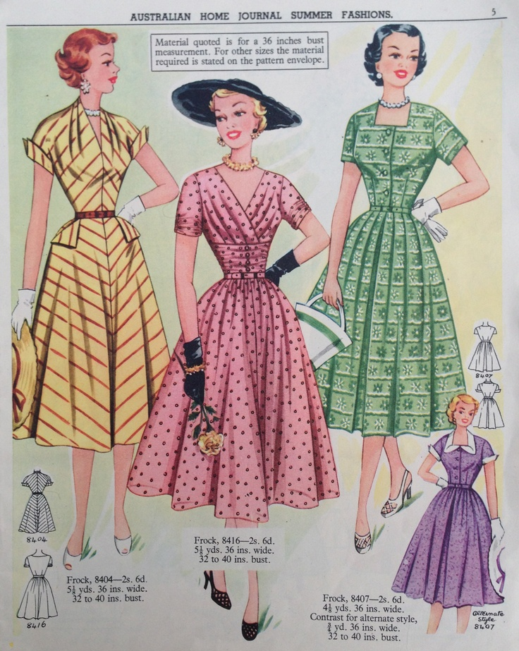 89 best images about 50s Fashion on Pinterest | 50 fashion, 50 ...