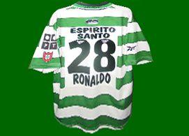 Cristiano Ronaldo shirt 2000-2001