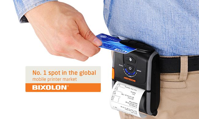 Bixolon SPP-R200II Mobile Portable Printer