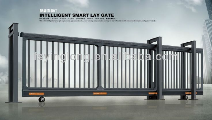 Sliding Gate Gate Openers And Driveway Gate On Pinterest