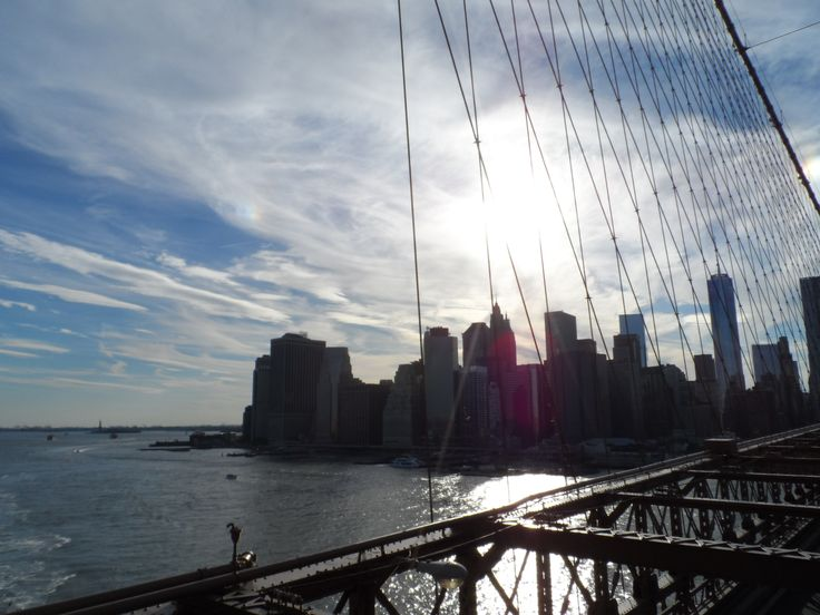 Brooklyn bridge, If there is any sunny day during your trip, take a walk through this bridge.