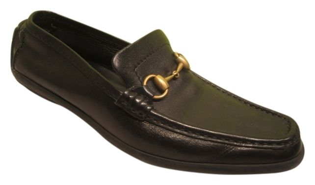 Gucci Black Womens Leather 38.5 8 8.5 Gold Horsebit Driving Loafers Rubber Sole Flats. Get the must-have flats of this season! These Gucci Black Womens Leather 38.5 8 8.5 Gold Horsebit Driving Loafers Rubber Sole Flats are a top 10 member favorite on Tradesy. Save on yours before they're sold out!