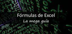 La mejor guía que encontraras de fórmulas de Excel con fórmulas de Excel matemáticas, de texto, logicas, de referencia para Excel 2007 en adelante.