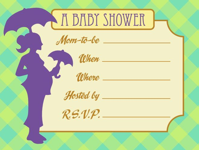 21 best waiting images on Pinterest Baby shower invitation - printable baby shower invite