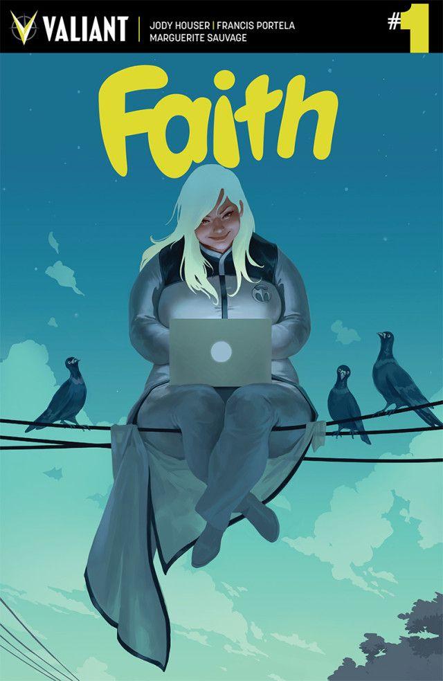 Nouvel bd baptisée Faith pour la nouvelle année 2016. Le personnage central est féminin, denrée rare dans le comics, et met en scène une blonde aux super pouvoirs... et aux rondeurs bien affirmées