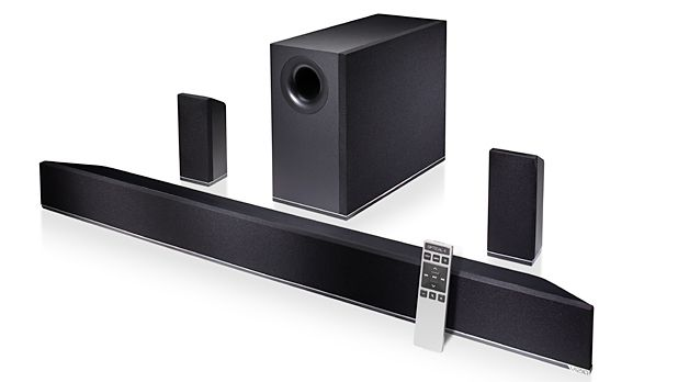 """Vizio 42"""" 5.1 Home Theater Sound Bar with Subwoofer and Satellite Speakers"""