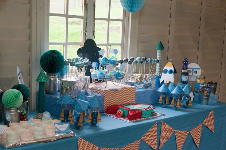 Rockets and Robots Space Party Printables | Kids Birthday ...