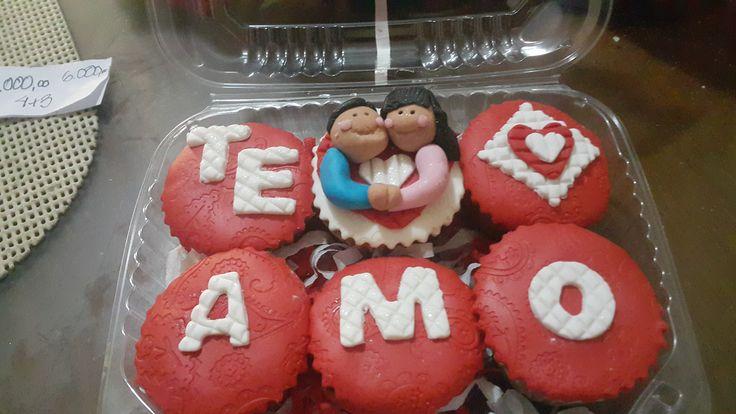 St Valentines Cupcakes / Cupcakes para Día de los Enamorados / Creaciones Reina Sofia Ciudad Ojeda Zulia Venezuela
