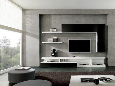 Decoração Sala De Estar. Lcd Wall DesignNewport