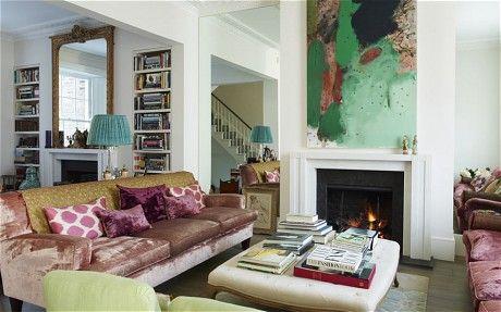 Interiors: inside Trinny Woodall's stylish London home - Telegraph #interiordesign