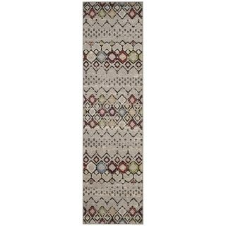Shop for Safavieh Amsterdam Light Grey / Multi Area Rug Runner (2'3 x 6'). Free Shipping on orders over $45 at Overstock.com - Your Online Home Decor Outlet Store! Get 5% in rewards with Club O!