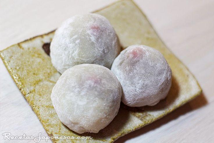 Receta de mochi, pastelito de arroz www.recetasjaponesas.com #receta…                                                                                                                                                                                 Más