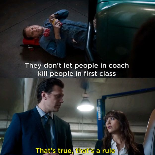 """There's the occasional joke that's also educational! 