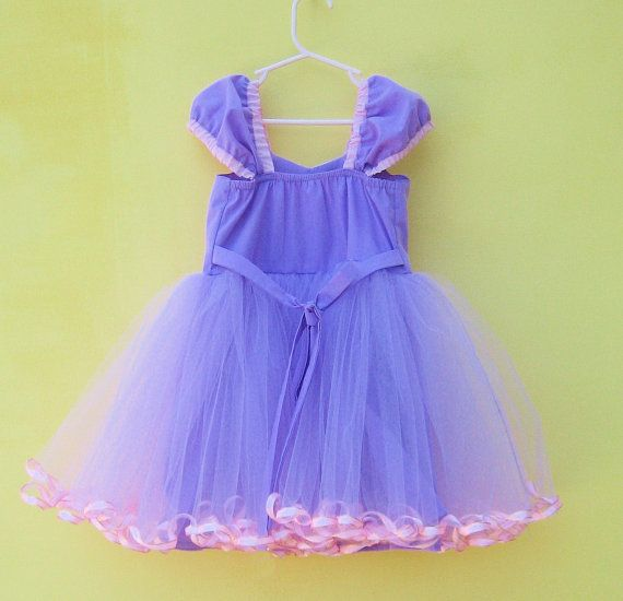 ************* RAPUNZEL TUTU COSTUME DRESS **************     This is such a fun new version of my little sweetheart tutu dresses with my new
