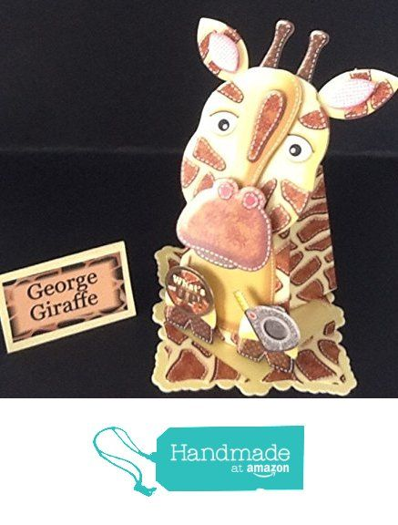 Box Pop card. George the Giraffe from Susans Handcrafted Cards and Gifts https://www.amazon.co.uk/dp/B01M61X6WC/ref=hnd_sw_r_pi_dp_Qe1bybR4CZHBK #handmadeatamazon
