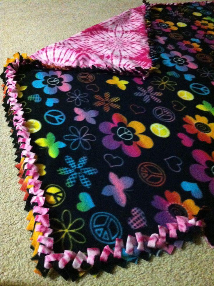 No sew fleece braided | My own creations | No sew fleece ...