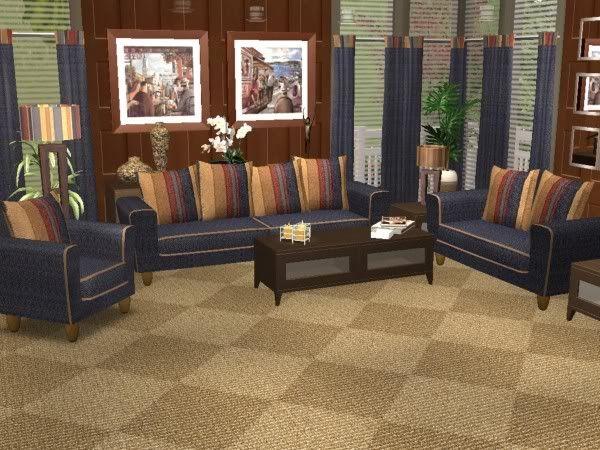 Doggone Denim Sets. DenimLiving RoomSims 2Php Part 89